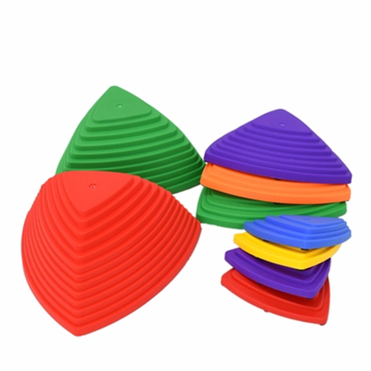 Colorful educational toys for children balance stepping training stones