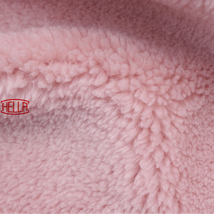Polar Anti píldora tela de alta calidad de material suave impresión frontera