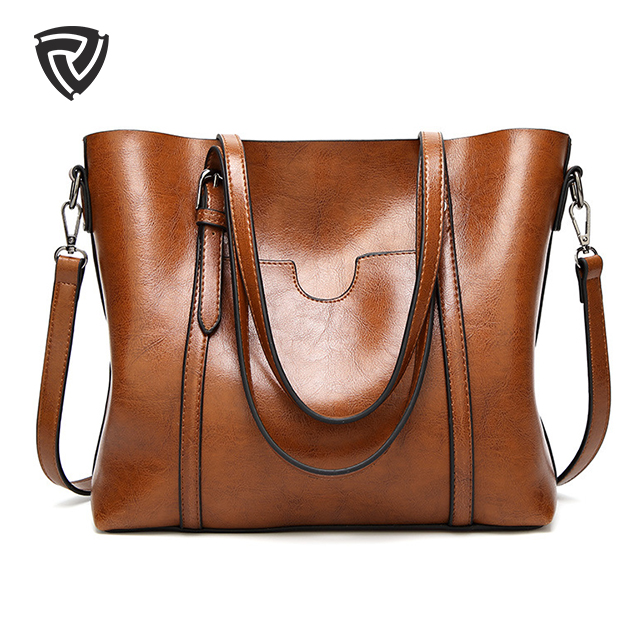 Genuine leather quilted utility fashion luxury sublimation large custom tote bag for women large genuine tote leather bag