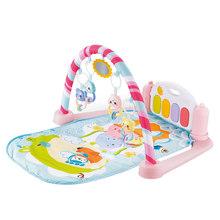 Детский игровой коврик, детский коврик, развивающий коврик-головоломка с фортепианной клавиатурой и милым животным, детский игровой коврик...(Китай)