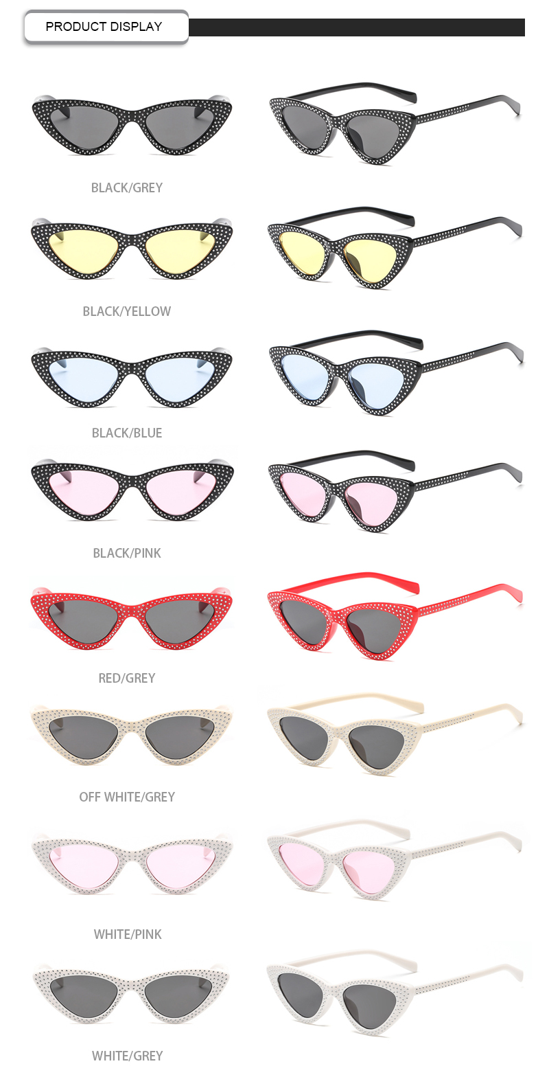 Fuqian Latest oversized designer sunglasses customized for lady-13