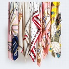 Scarf High Quality Luxury 100% Pure Silk 12mm Customized Print Design Chinese Scarf For Women