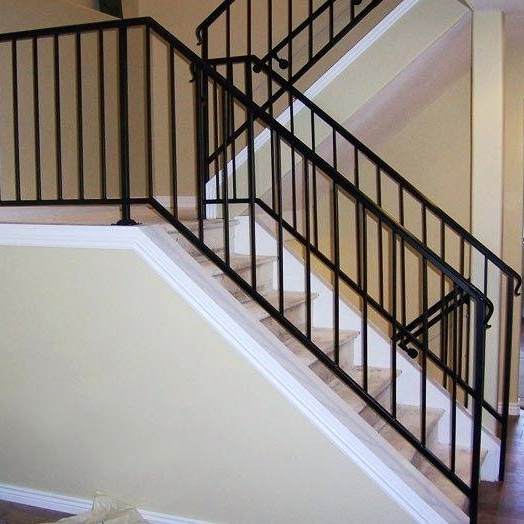Modern Iron Railing Designs Wrought Iron Fence Stair Railing For Safety