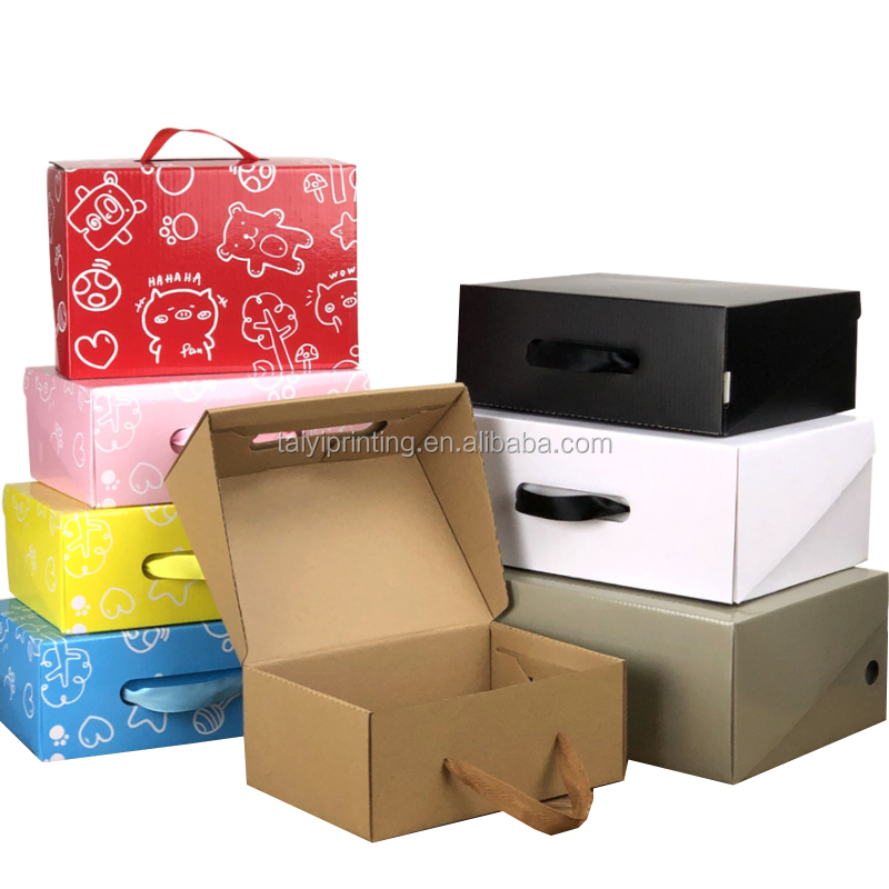 Customized printed exquisite colorful gift box