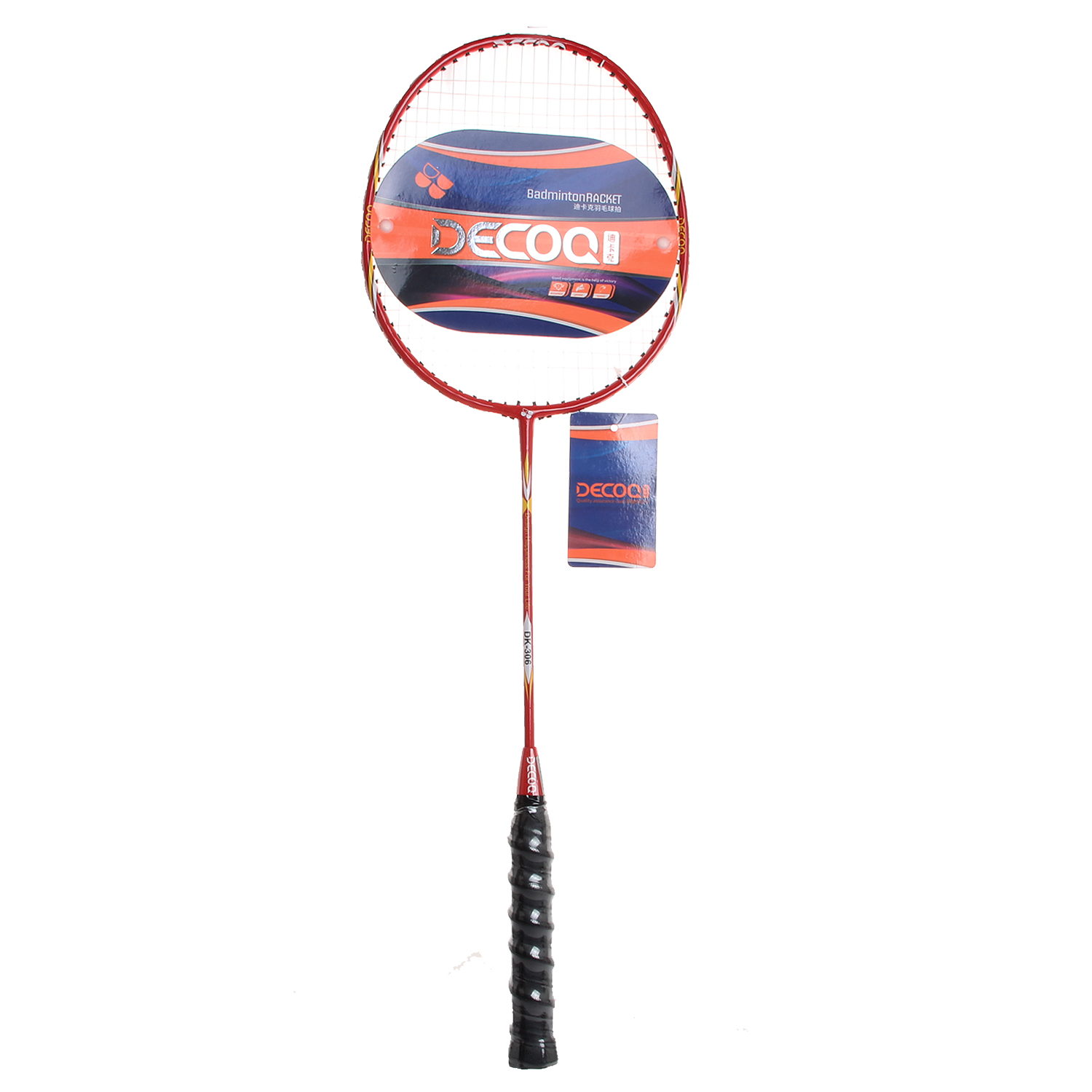 DECOQ OEM Badminton Racquet Set with Carry Bag Pro Badminton Racket Light Weight Badminton Racquet