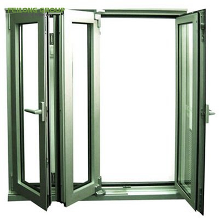 Australian standard as2047 aluminium double glazed interior bi-fold window