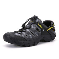 Custom Summer Outdoor Shoes Hiking Salamon Men's Waterproof Hiking Shoes