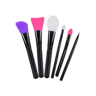Custom Soft Mask Moisturizers Applicator Makeup Tools Cosmetic Brush Travel Set Silicone Facial Mask Brushes for Mud