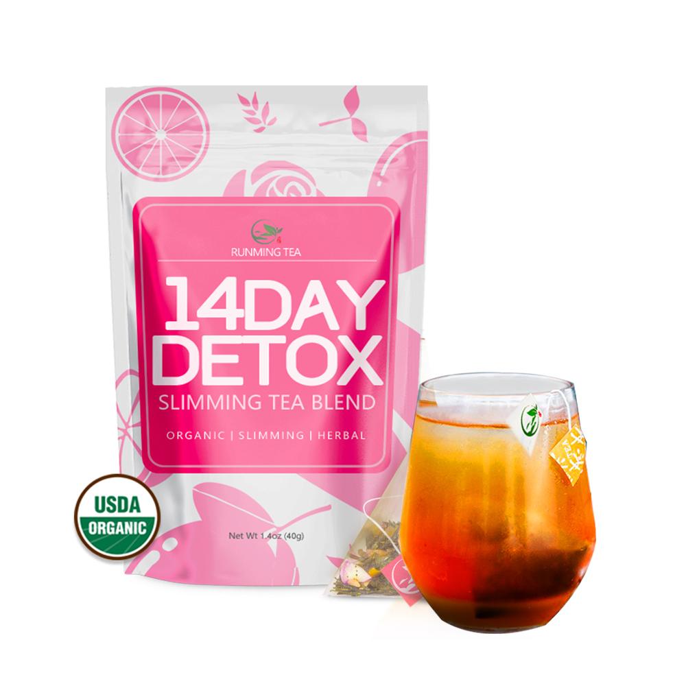 Organic Magic Flat Tummy Slim Fat Burning Magic Loss Weight Diet Fit Detox Slimming Tea - 4uTea | 4uTea.com