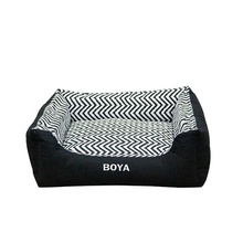 New hot products on the market Black square pet dog bed
