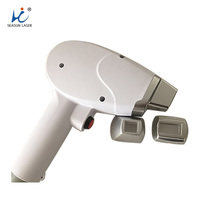 Factory 808 laser handset for shaving hair removal laser