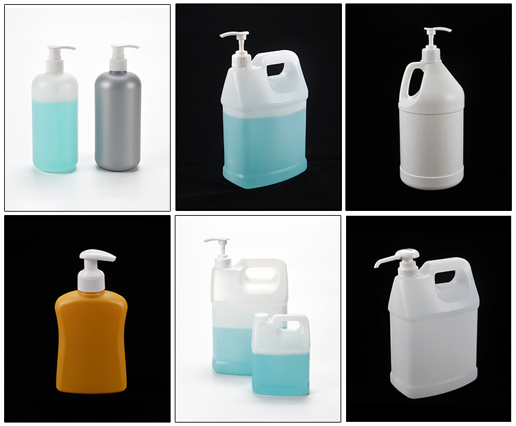 Hdpe Anitbacterial Hond Shampoo Lotion Zeep Cleaner 5l Plastic Vierkante Gallon Fles