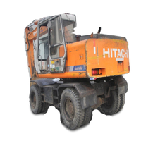 90% new condition competitive price used Hitachi EX100WD excavator, used hitachi ex160wd