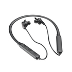 New Customised ANC Technology Bluetooth Neckband Earphones, Black V5.0