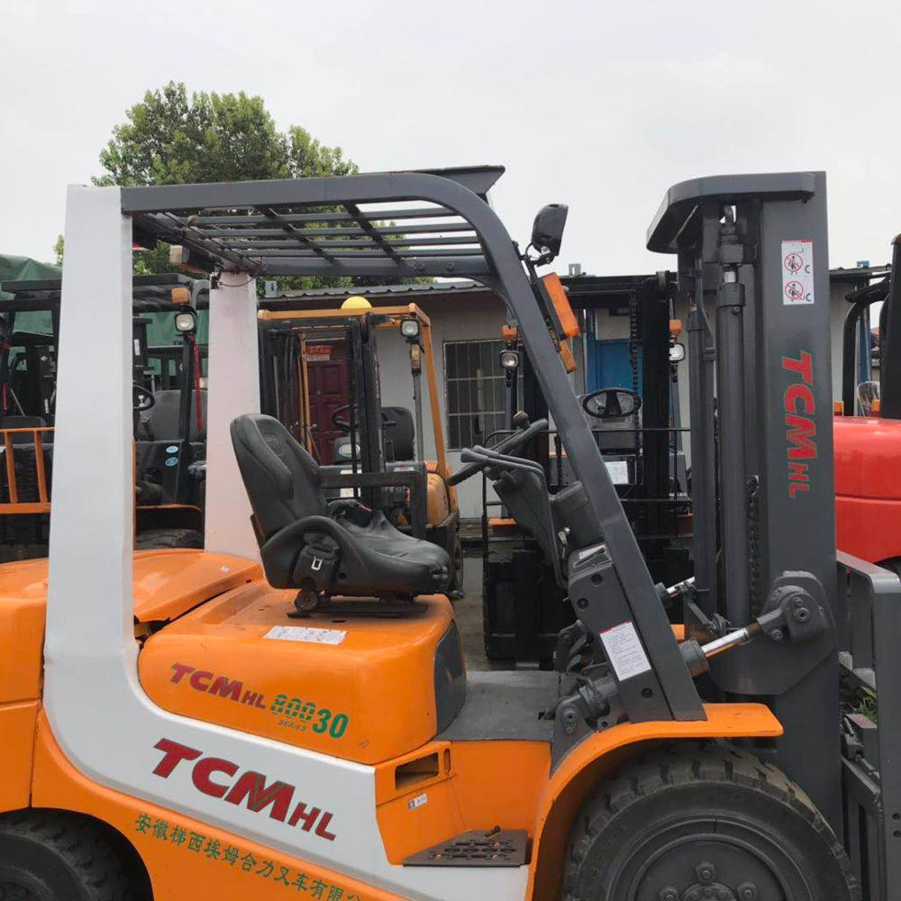 low price Second-hand 3 T Diesel Forklift TCM 2T 3T 4T 5T 7T 8T 10T Forklift in good condition for Sale