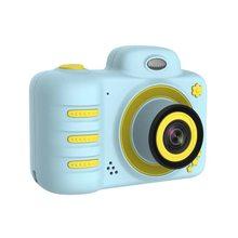 Новинка 2020 C3 детская камера 1080P HD мини перезаряжаемая Детская цифровая фронтальная задняя селфи камера детская видеокамера с ЖК-экраном под...(Китай)