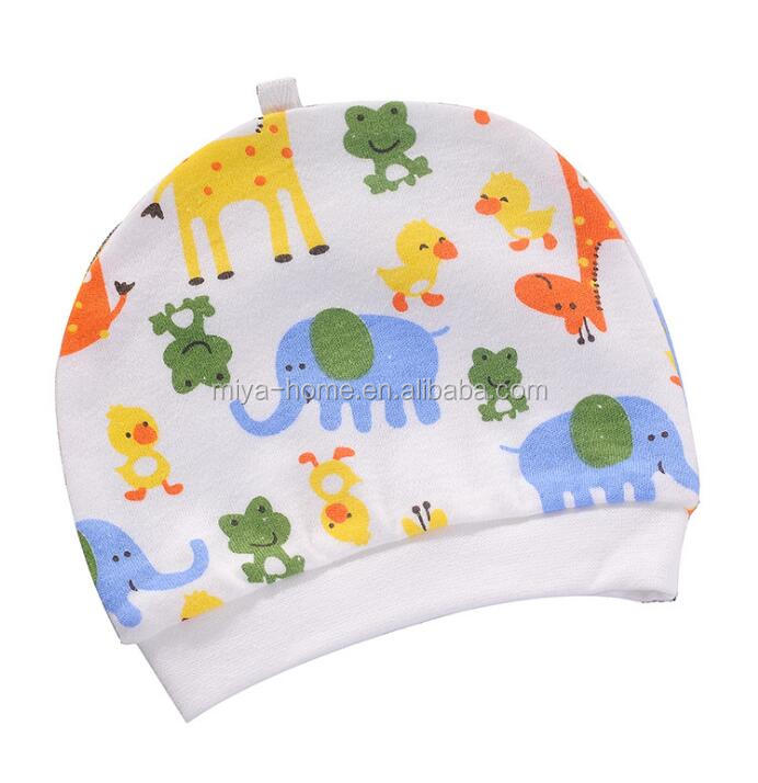Unisex baby cotton Soft cap / newborn windproof cap / Infant hat