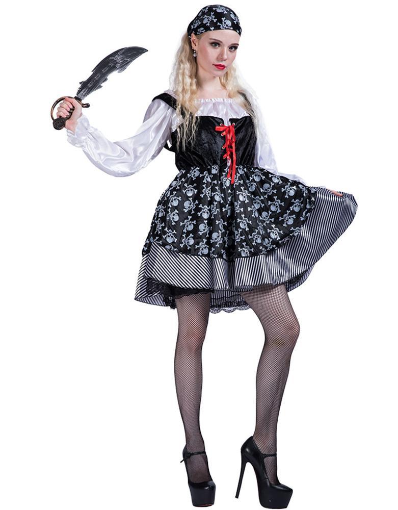 Kostüm korsan cadılar bayramı kostüm partisi malzemeleri kadınlar için