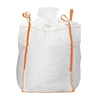 100% virgin polypropylene 1000 kgs big jumbo bag with PE liner for gypsum and tapioca starch