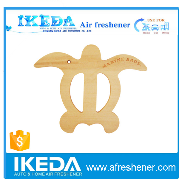 IKEDA brand wood hanging car air freshener