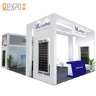 IZEXPO Custom Printed Stand Portable Exhibition Equipment Trade Show portable exhibition booth