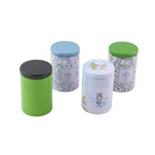 Metal tea tins can eco friendly packaging tin cans