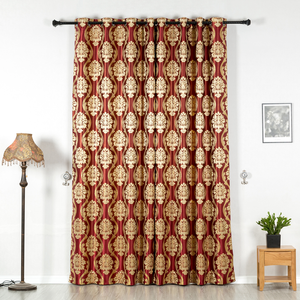 eyelet curtains,2 Pieces, 4 colors