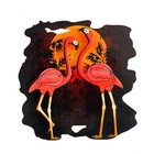 Flamingo Creative Handmade Wall Decor Perfect For Intarsia Woodworking Beginners
