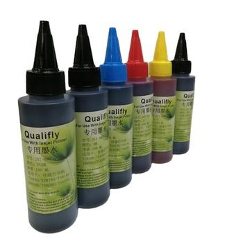 PGI380 CLI381 refill dye ink 100ML refill ink purple ink for canon inkjet printer TS8130 TS8530 TR75