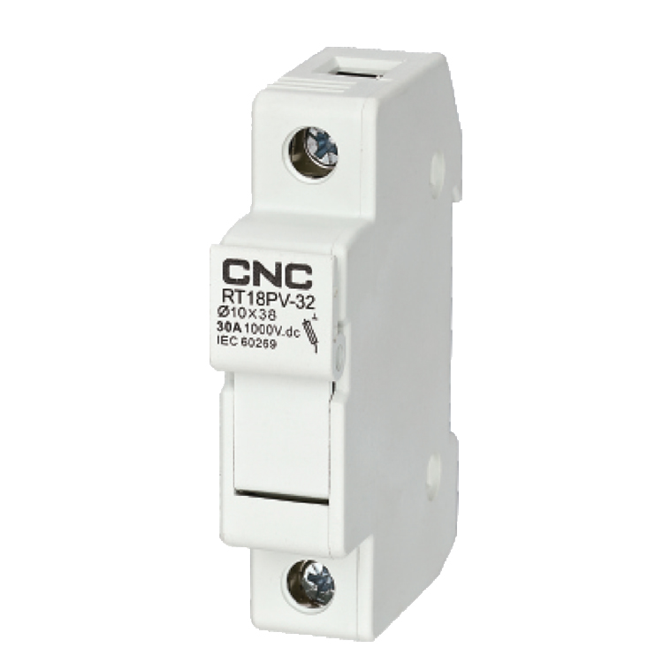 Dc fuses fuse holder 1000v solar photovoltaic base