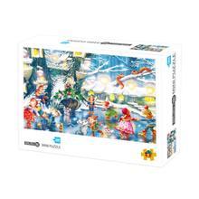 Пазлы 1000 штук для взрослых детская головоломка игрушка Большая головоломка игра игрушки подарок 23GD(Китай)