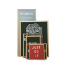 Amazon hot sale changeable wood frame felt letterboard with letters