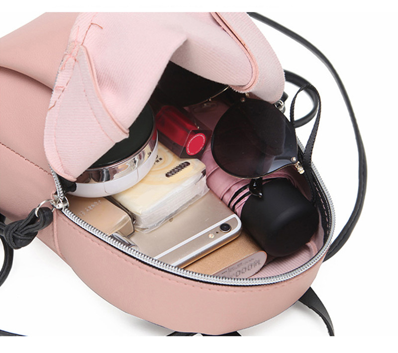 product-mochilas 2020 Newest Fashion Lady Small Backpack Women Leather Shoulder Bag Girls School Bac