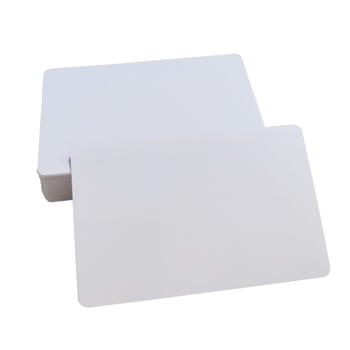 CR80 thermal plastic polycarbonate id card printing blank voter id credit card format black magnetic stripe pvc white card