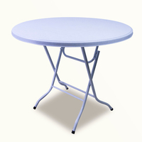 Round plastic folding table chairs and tables restaurant