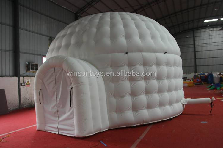 33' Giant White Inflatable Igloo Dome Tent