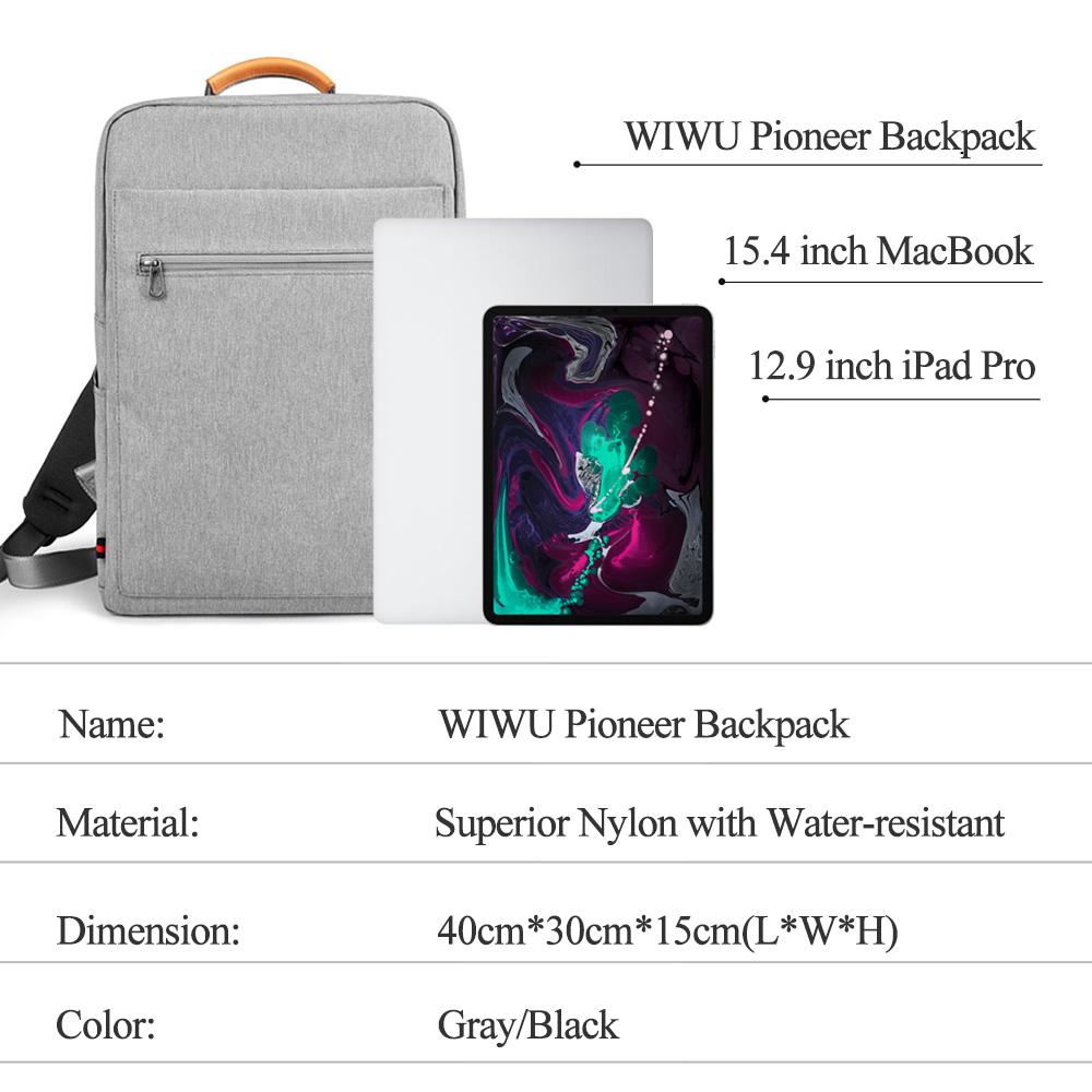WIWU 锋范双肩电脑包 (https://www.wiwu.net.cn/) 双肩包 第7张