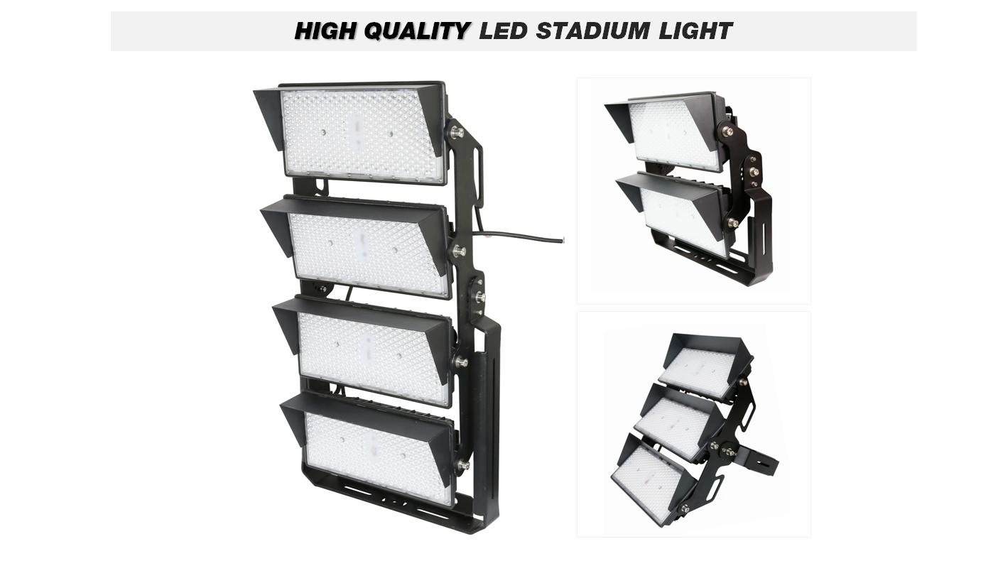 Ultra Bright 5 year Warranty 300w 400w 480w 500w 600w 800w 1000W 1200W Modular Flood Light Outdoor Sport Light