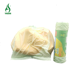 Amazon best seller 3 Gallon 100% Biodegradable 100 Count Compostable small Kitchen garbage bag Food Scrap trash bags