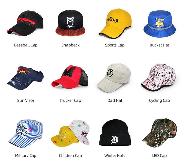 Mũ Bóng Chày Logo Thêu 3d Cho Nam Tùy Chỉnh Nhận Giao Hàng Mẫu Miễn Phí Trong Vòng 15 Ngày