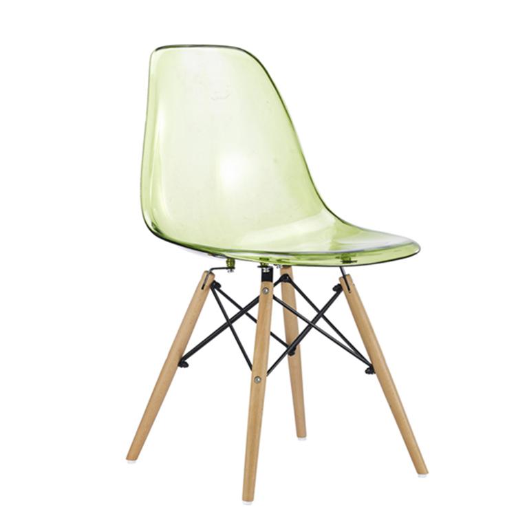 Venta al por mayor sillas de plastico transparente para