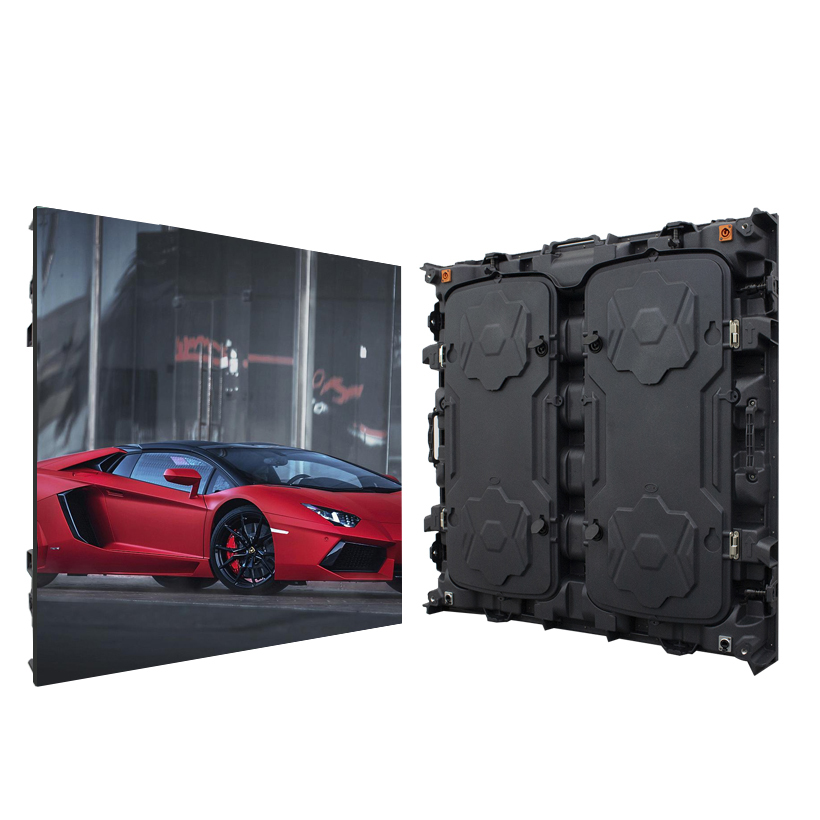 Indoor Led Screen P5 Advertising Led Display Panels 960*960mm TV Background Wall