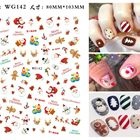 Nail Stickers Colorful Wholesale Cheap Christmas 3D Nail Stickers For Nail Art Decoration