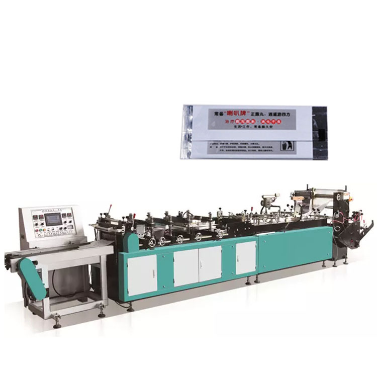 ZFB400 Plastic T-shirt Midden Centrum Afdichting Rijst Zak Making Machine Fabrikanten Prijs