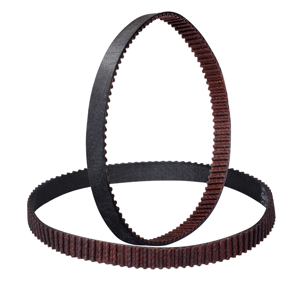 GATES-LL-2GT Closed Loop Timing Belt Rubber with Anti-Slip 2GT 6mm 110 280 852mm Synchronous Belts 3D Printers Parts