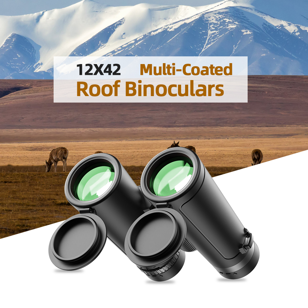 Military Navigation Powerful Waterproof Portable Outdoor Hunting Camping Adult 12X42 Binoculars