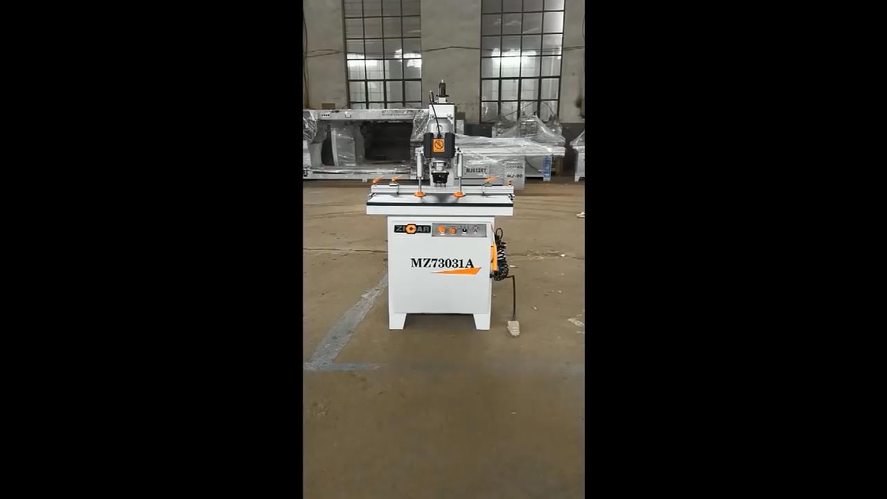 ZICAR Woodworking Vertical Hinge Boring Drilling Machine MZ73031