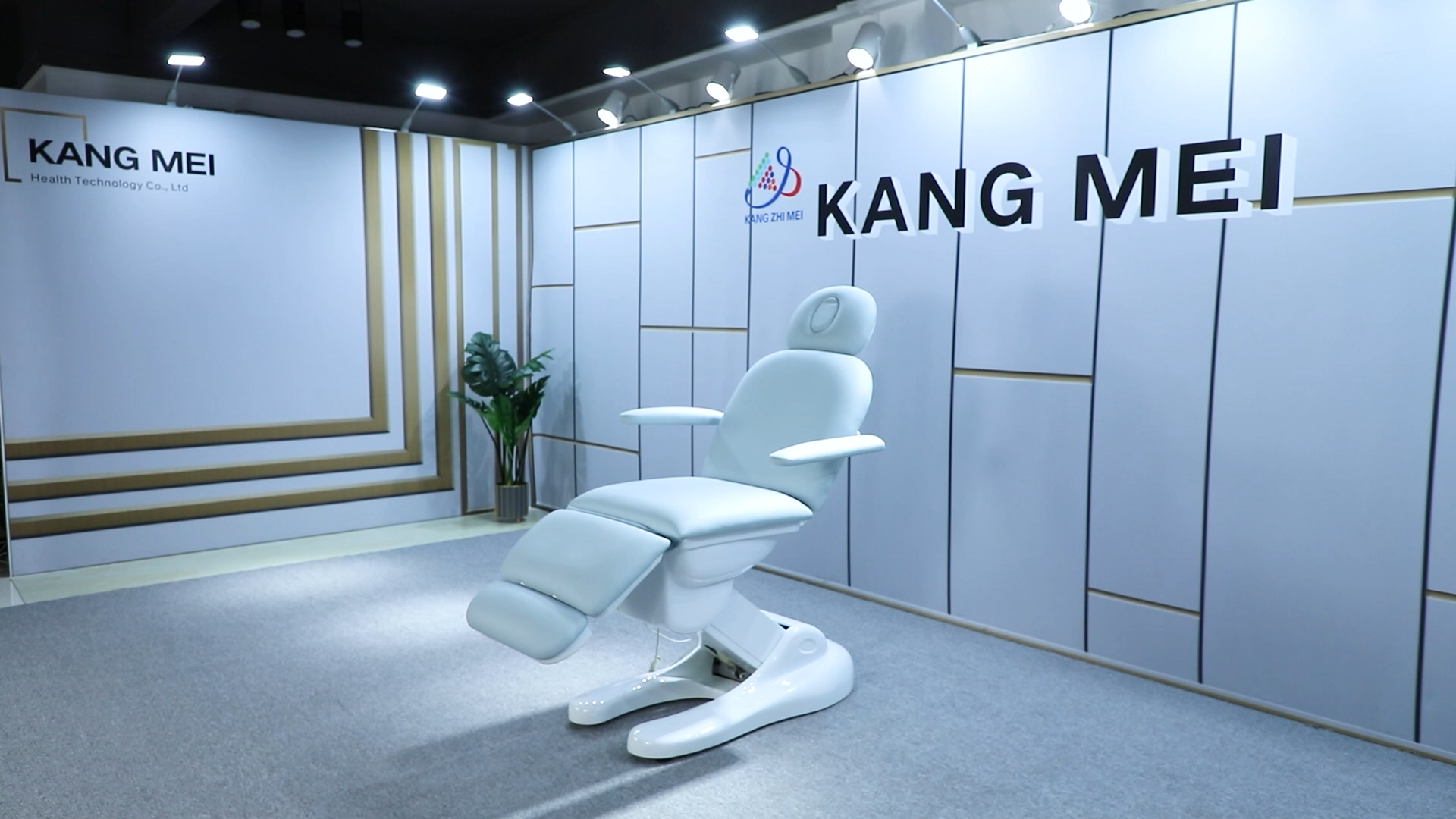 Kangmei Cheap Price 3 CE Electric Motors Beauty Salon Spa Waxing Massage Table Treatment Bed Cosmetic Facial Chair