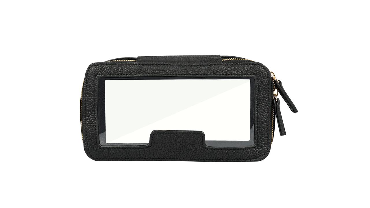 zipper pvc cosmetic bag Transparent PVC Toiletries Pouch Durable Waterproof Travel Makeup Bag