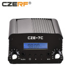 CZERF CZE-7C 1w/7w wireless fm transmitter PLL Stereo LCD fm Tuner wireless FM transmitter modulator for car